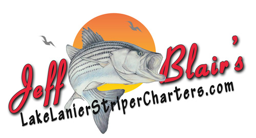Jeff Blair-Lake Lanier Striper Fishing