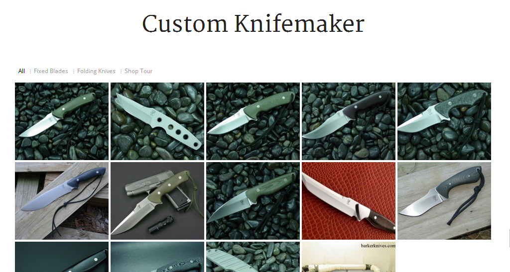 Portfolio: Barker Knives